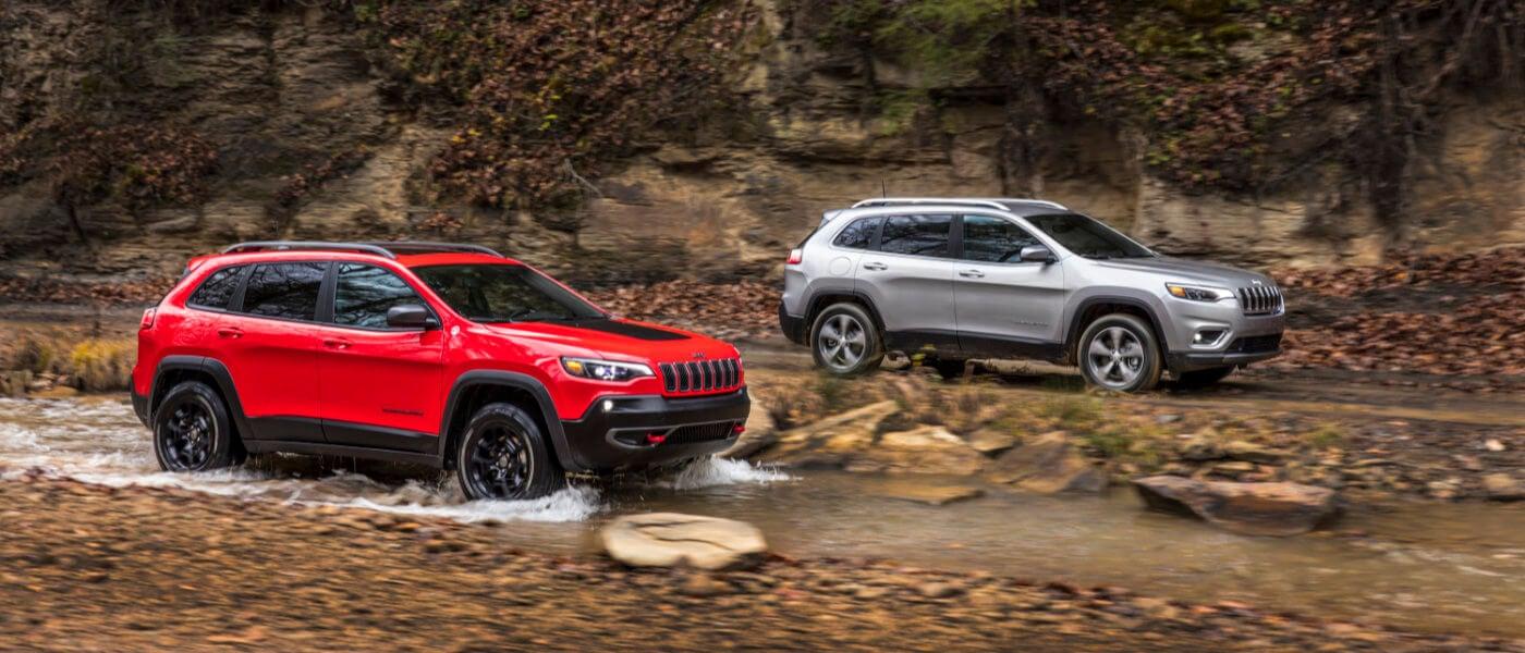 2019 Jeep Cherokee Trim Levels Latitude Vs Limited Vs Trailhawk